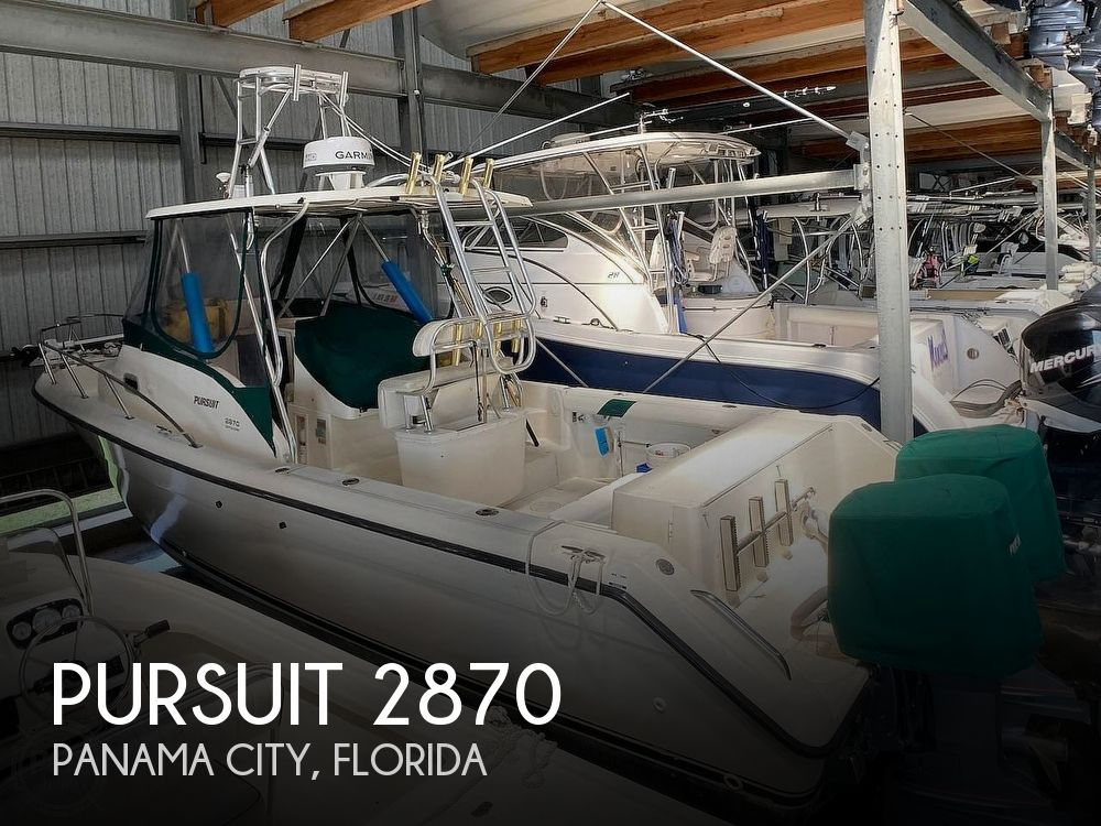 2000 Pursuit boat for sale, model of the boat is 2870 WA & Image # 1 of 40