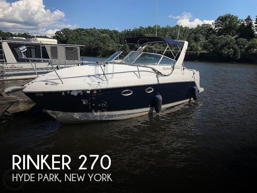 2003 Rinker boat for sale, model of the boat is 270 Fiesta Vee & Image # 1 of 15