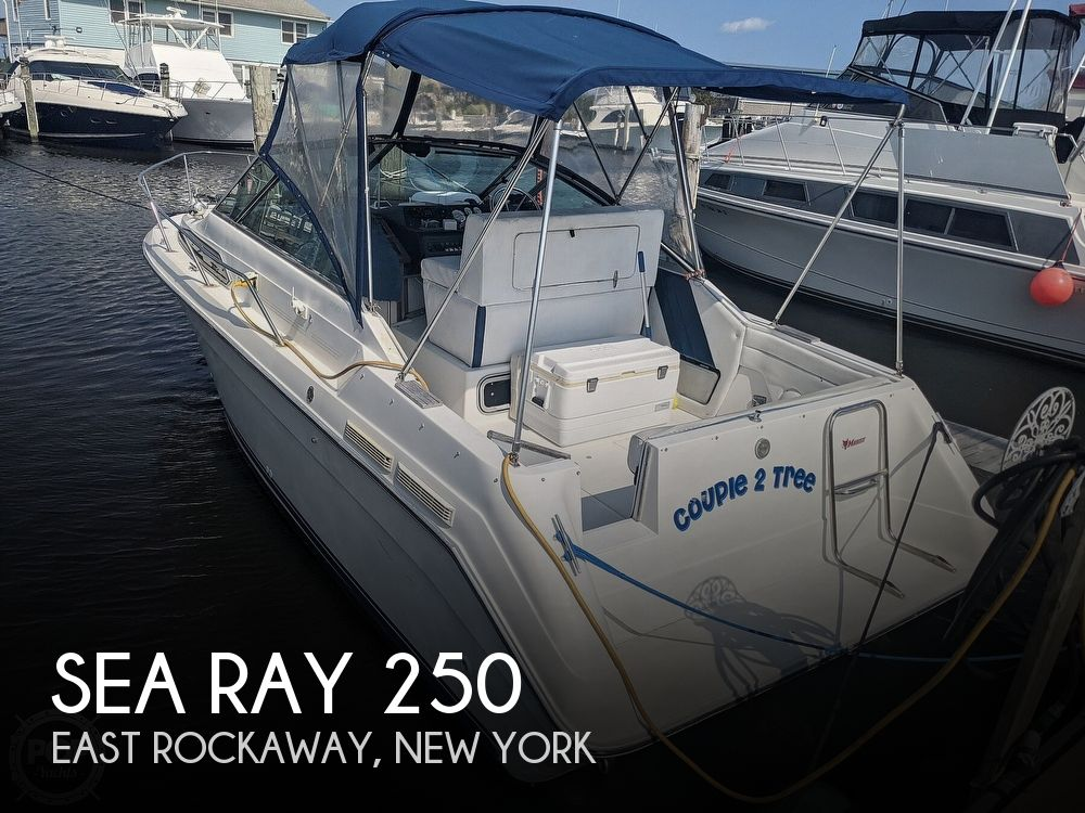 1989 Sea Ray boat for sale, model of the boat is 250 Sundancer & Image # 1 of 40