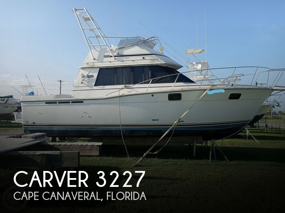 1987 Carver boat for sale, model of the boat is 3227 Convertible & Image # 1 of 40