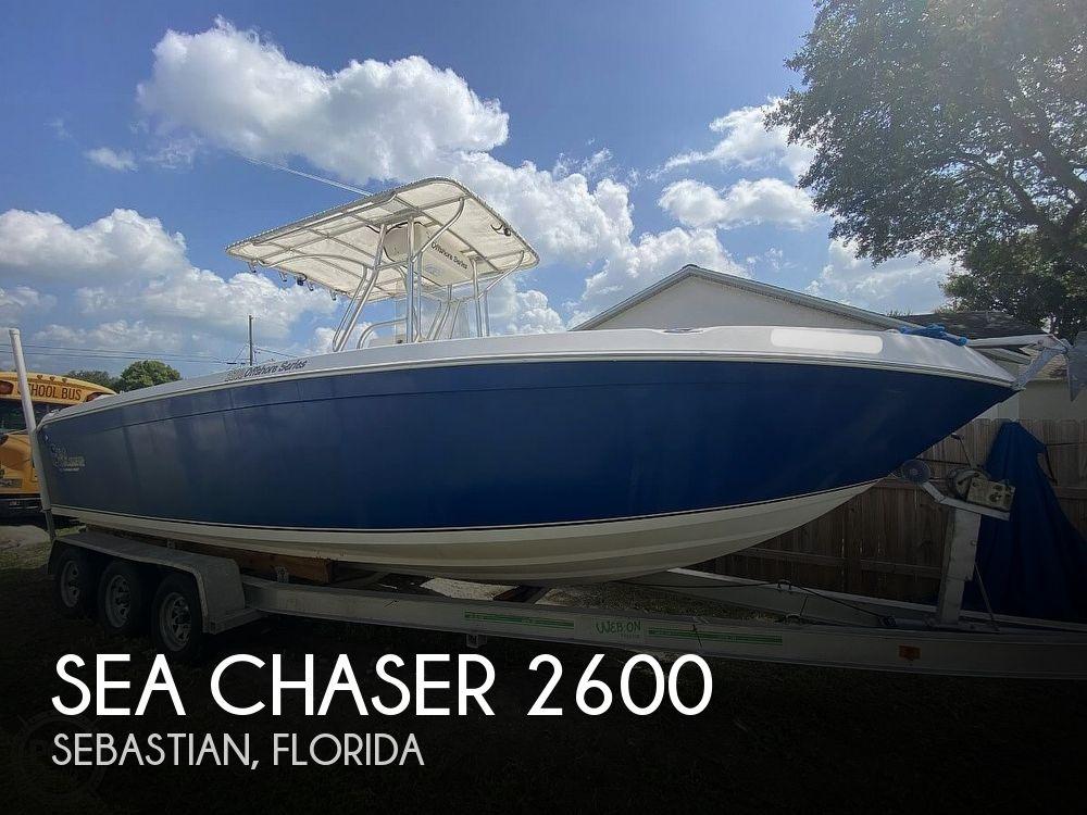 2007 CAROLINA SKIFF SEA CHASER for sale