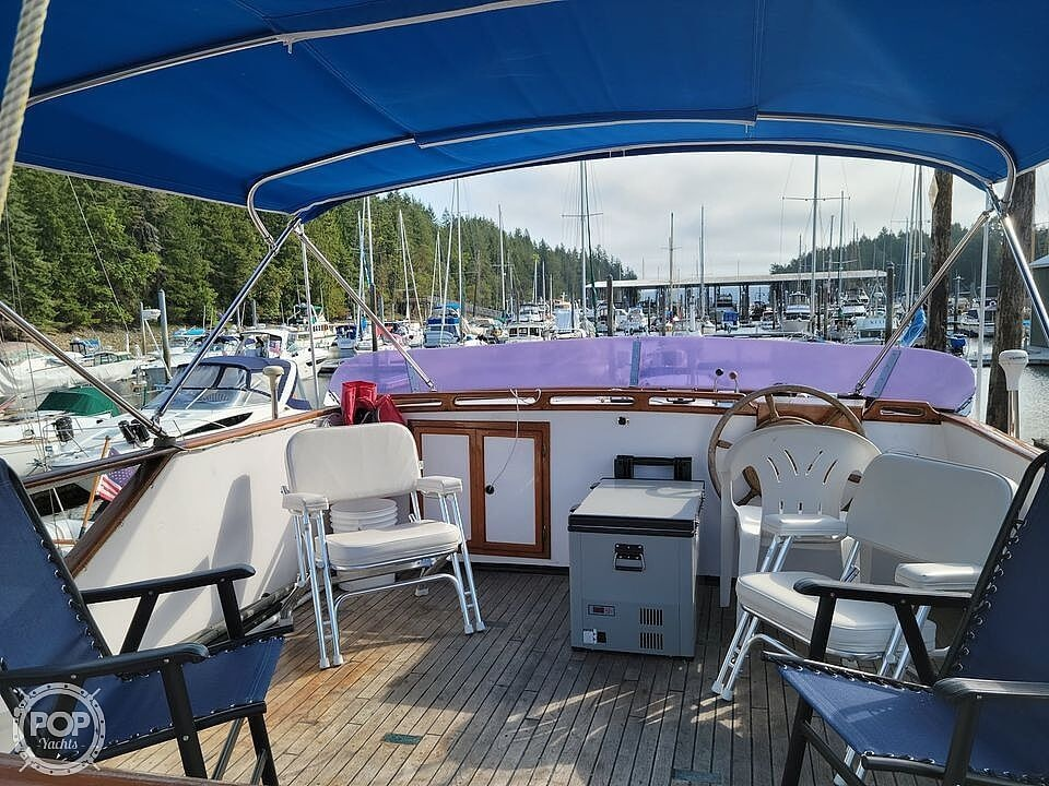 1977 Puget Sound boat for sale, model of the boat is 37 DC & Image # 8 of 40