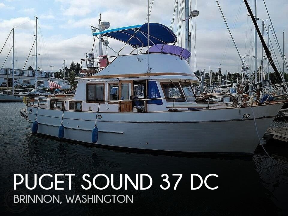 1977 Puget Sound boat for sale, model of the boat is 37 DC & Image # 1 of 40