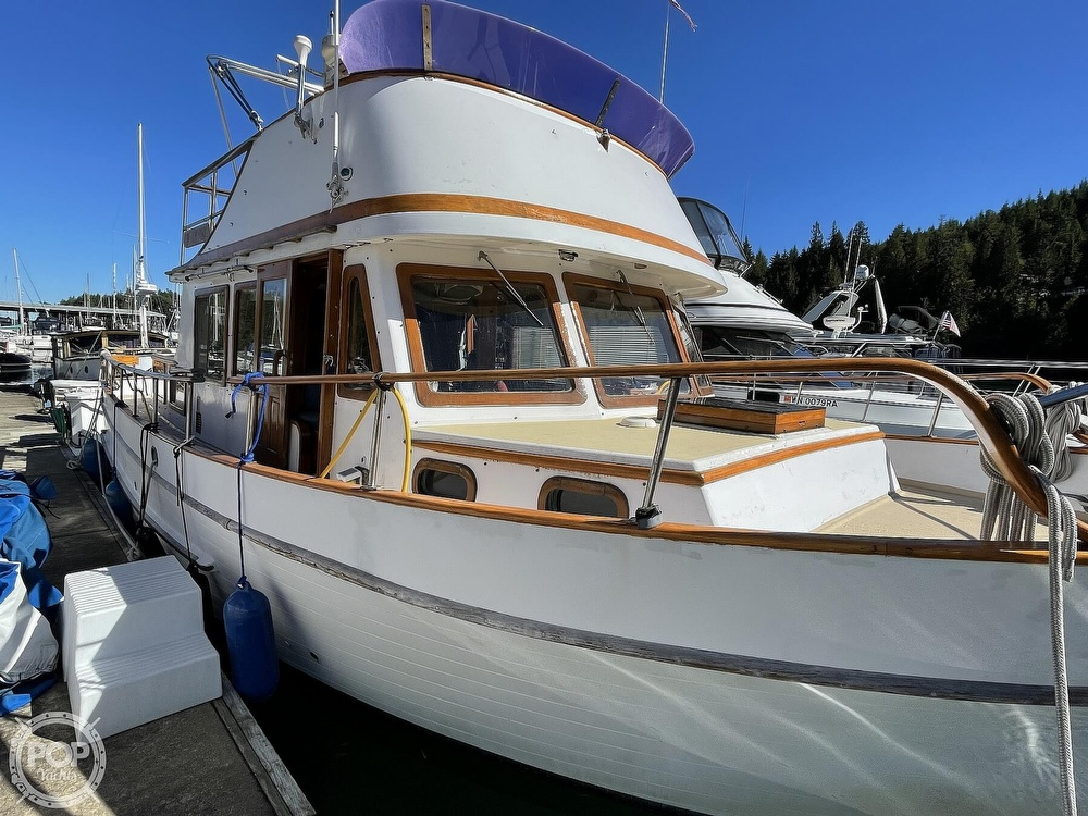 1977 Puget Sound boat for sale, model of the boat is 37 DC & Image # 2 of 40