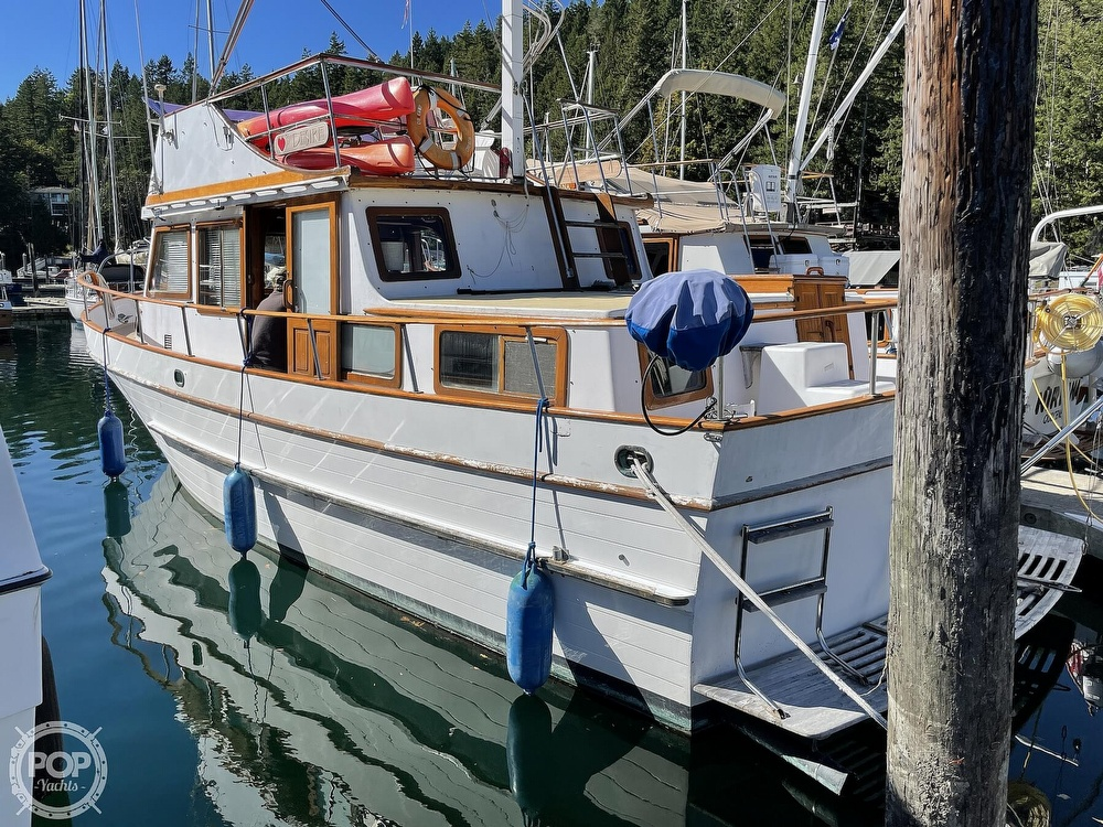 1977 Puget Sound boat for sale, model of the boat is 37 DC & Image # 4 of 40