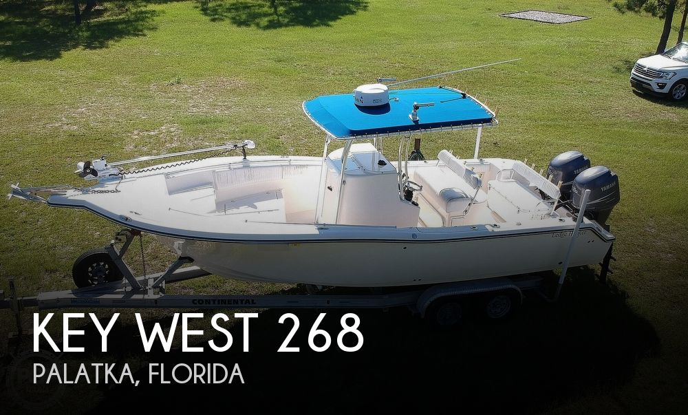 2006 Key West boat for sale, model of the boat is 268 Bluewater & Image # 1 of 40