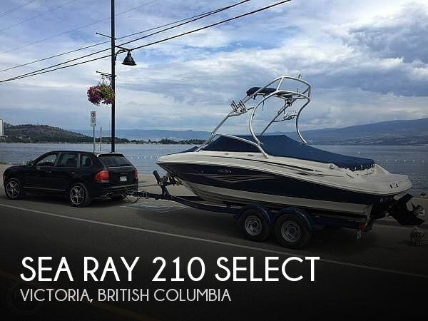2010 Sea Ray boat for sale, model of the boat is 210 select & Image # 1 of 40