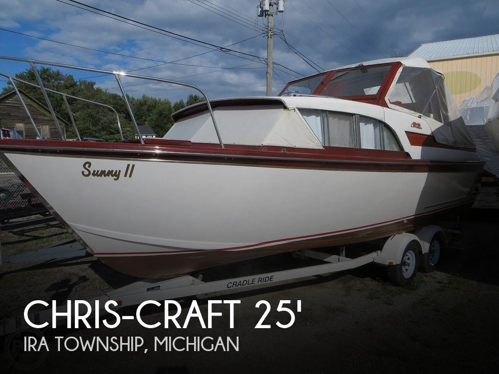 1960 Chris Craft boat for sale, model of the boat is Cavalier & Image # 1 of 40