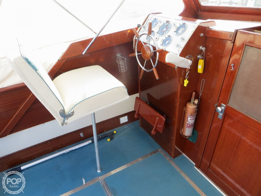 1960 Chris Craft boat for sale, model of the boat is Cavalier & Image # 17 of 40