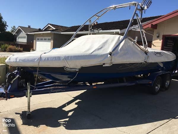 2009 Sanger boat for sale, model of the boat is 215v Black Scorpion & Image # 12 of 40