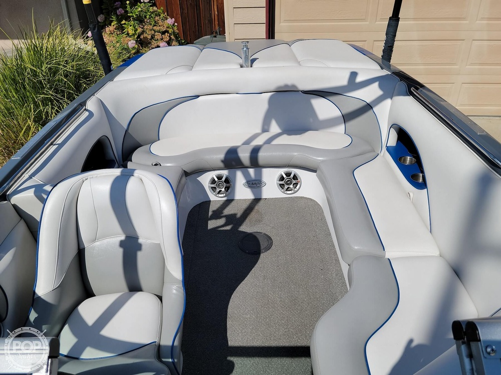2009 Sanger boat for sale, model of the boat is 215v Black Scorpion & Image # 39 of 40