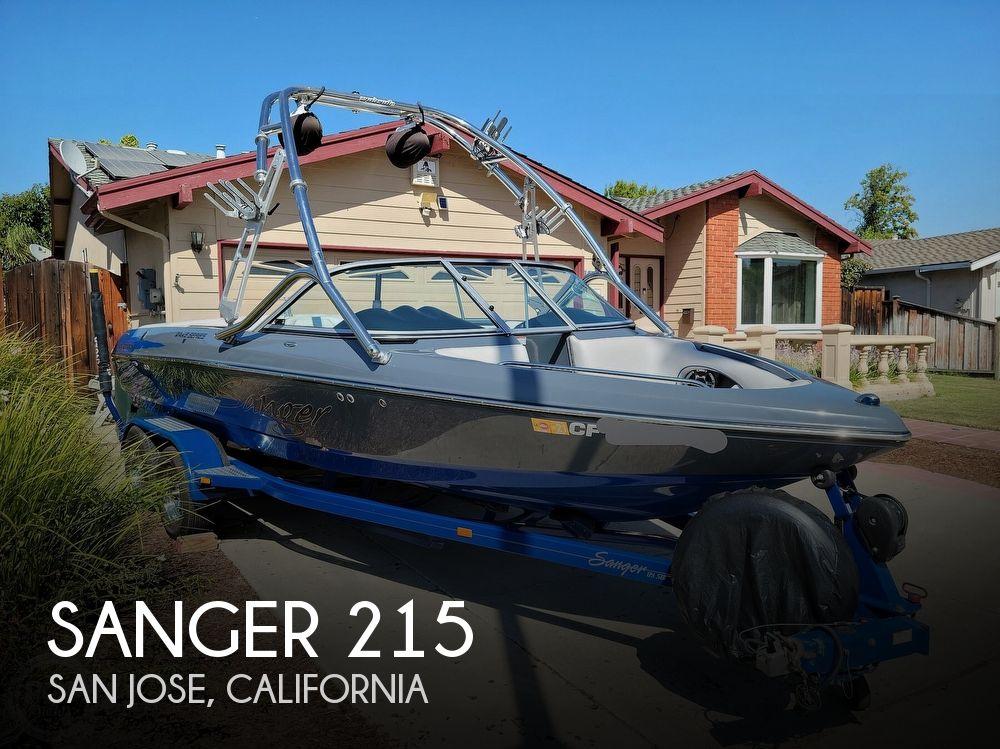 2009 Sanger boat for sale, model of the boat is 215v Black Scorpion & Image # 1 of 40
