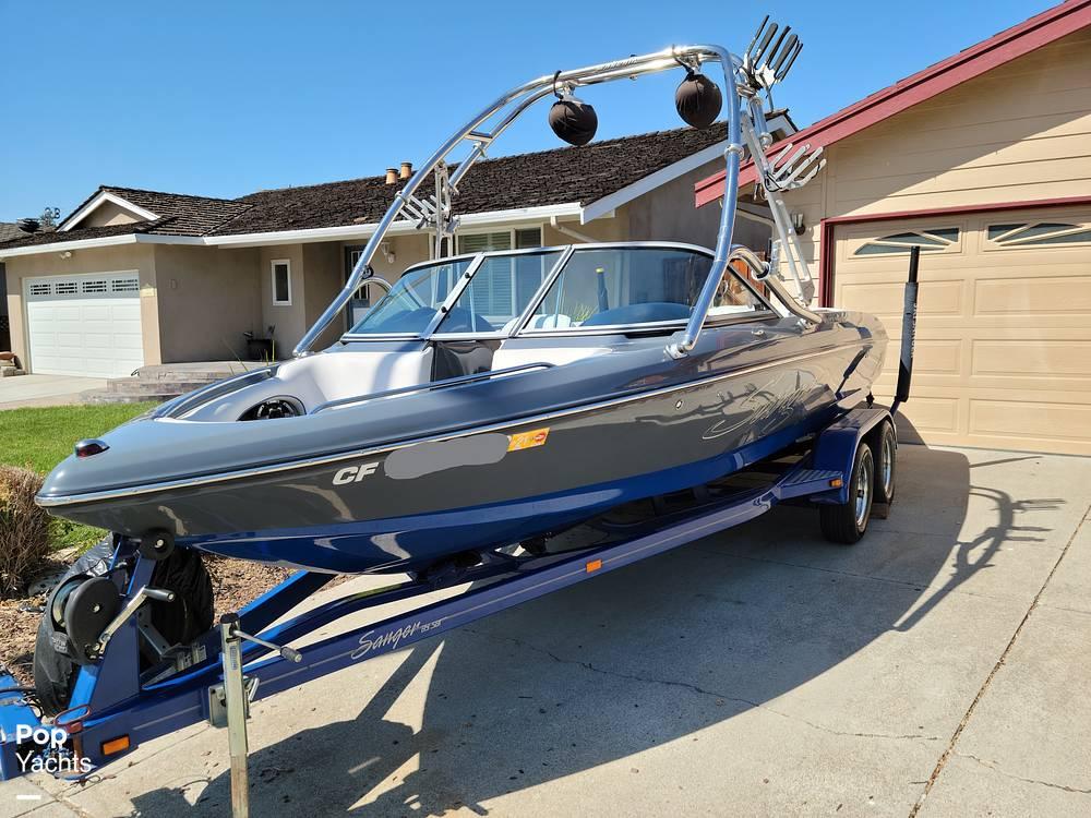2009 Sanger boat for sale, model of the boat is 215v Black Scorpion & Image # 2 of 40