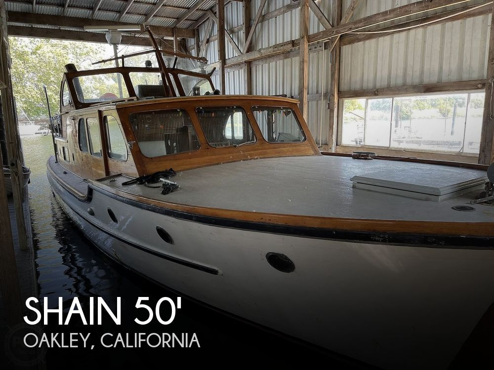 1942 Shain boat for sale, model of the boat is Grady power cruiser & Image # 1 of 40