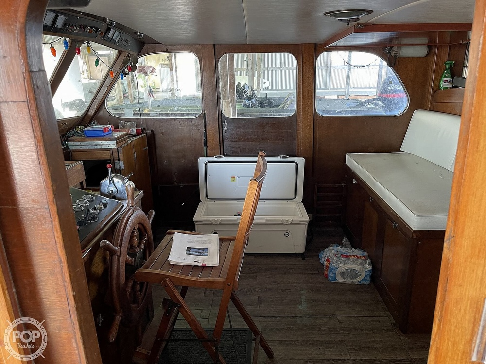 1942 Shain boat for sale, model of the boat is Grady power cruiser & Image # 11 of 40