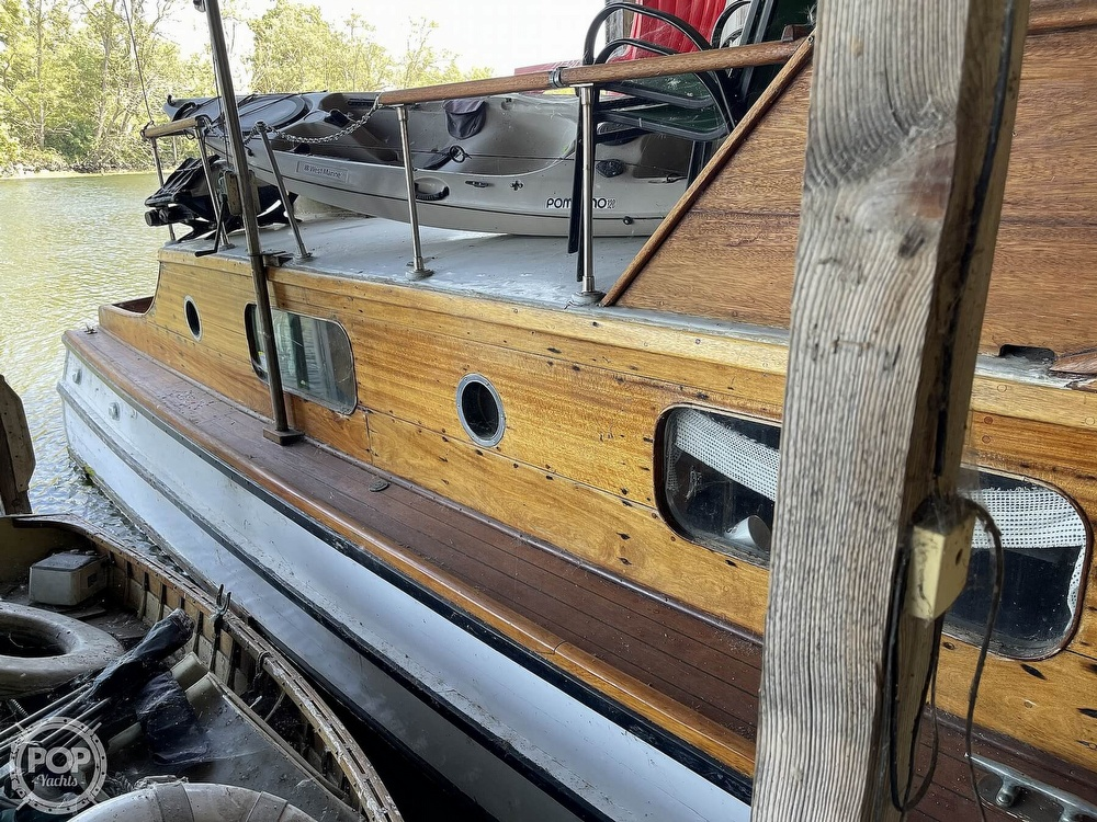 1942 Shain boat for sale, model of the boat is Grady power cruiser & Image # 17 of 40