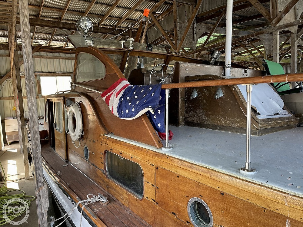1942 Shain boat for sale, model of the boat is Grady power cruiser & Image # 32 of 40