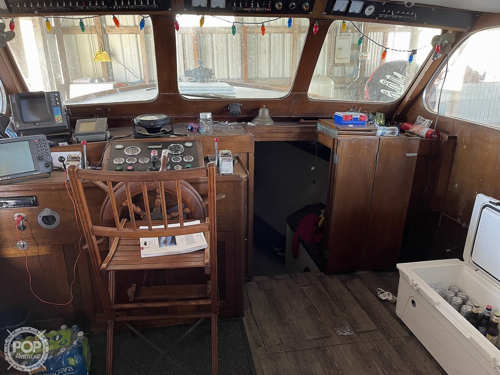 1942 Shain boat for sale, model of the boat is Grady power cruiser & Image # 37 of 40