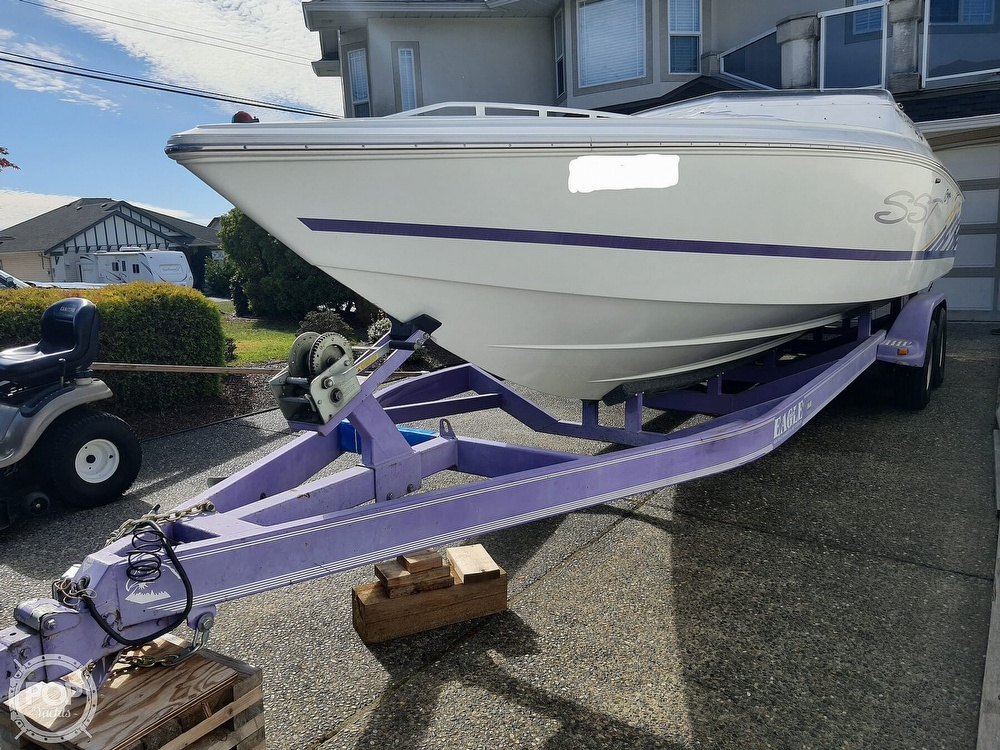 1999 Baja boat for sale, model of the boat is 25 Outlaw SST & Image # 34 of 40