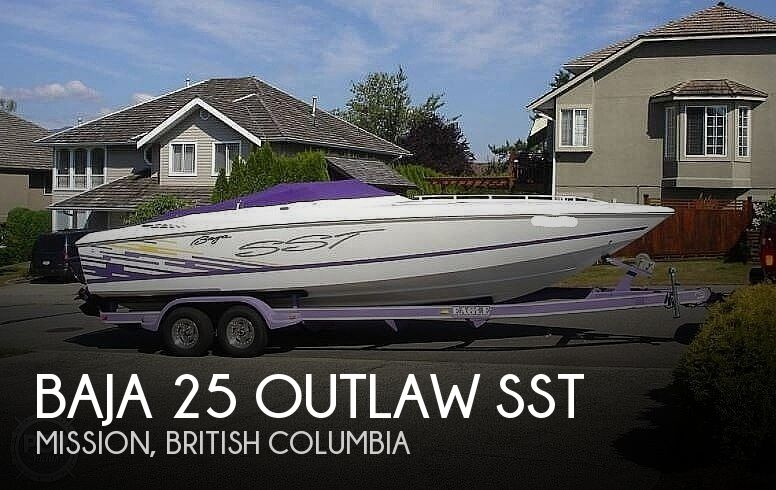 1999 Baja boat for sale, model of the boat is 25 Outlaw SST & Image # 1 of 40