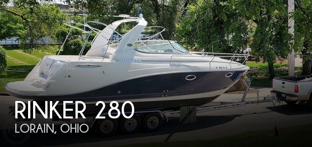 Used Power boats For Sale in Canton, Ohio by owner   2007 Rinker 280 Express Cruiser