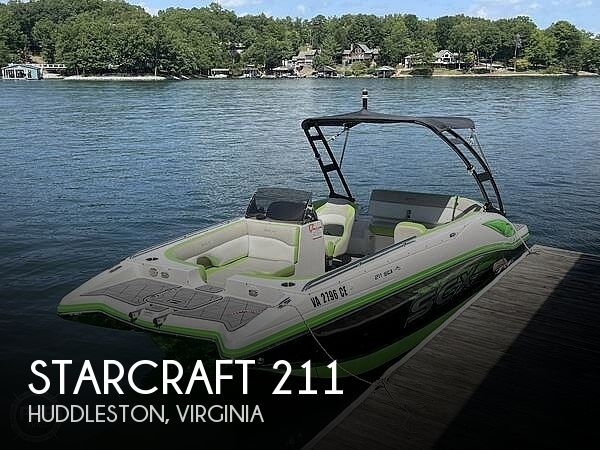Used Boats For Sale in Lynchburg, Virginia by owner | 2018 Starcraft SCX Surf 211