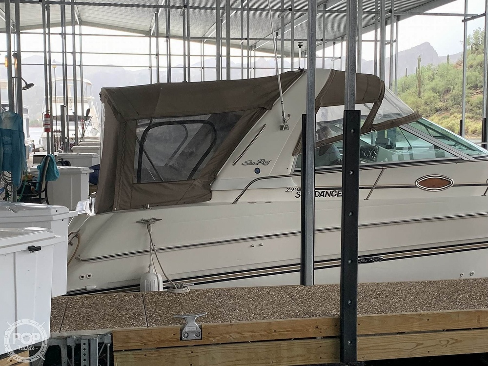 1997 Sea Ray boat for sale, model of the boat is 290 Sundancer & Image # 6 of 40