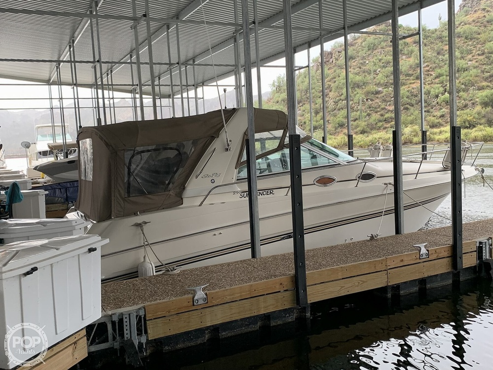 1997 Sea Ray boat for sale, model of the boat is 290 Sundancer & Image # 7 of 40