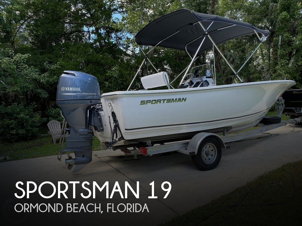 2016 Sportsman Boats boat for sale, model of the boat is 19 Island Reef & Image # 1 of 40