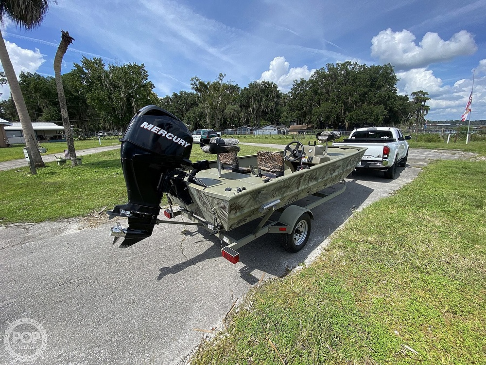 2011 Tracker Boats boat for sale, model of the boat is 1754SC Grizzly & Image # 2 of 32
