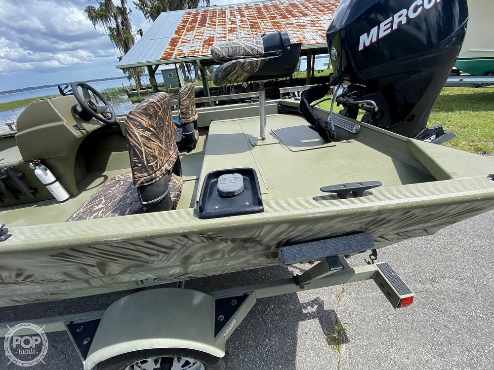 2011 Tracker Boats boat for sale, model of the boat is 1754SC Grizzly & Image # 13 of 32