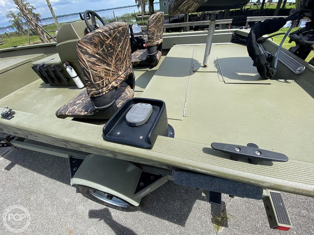 2011 Tracker Boats boat for sale, model of the boat is 1754SC Grizzly & Image # 18 of 32