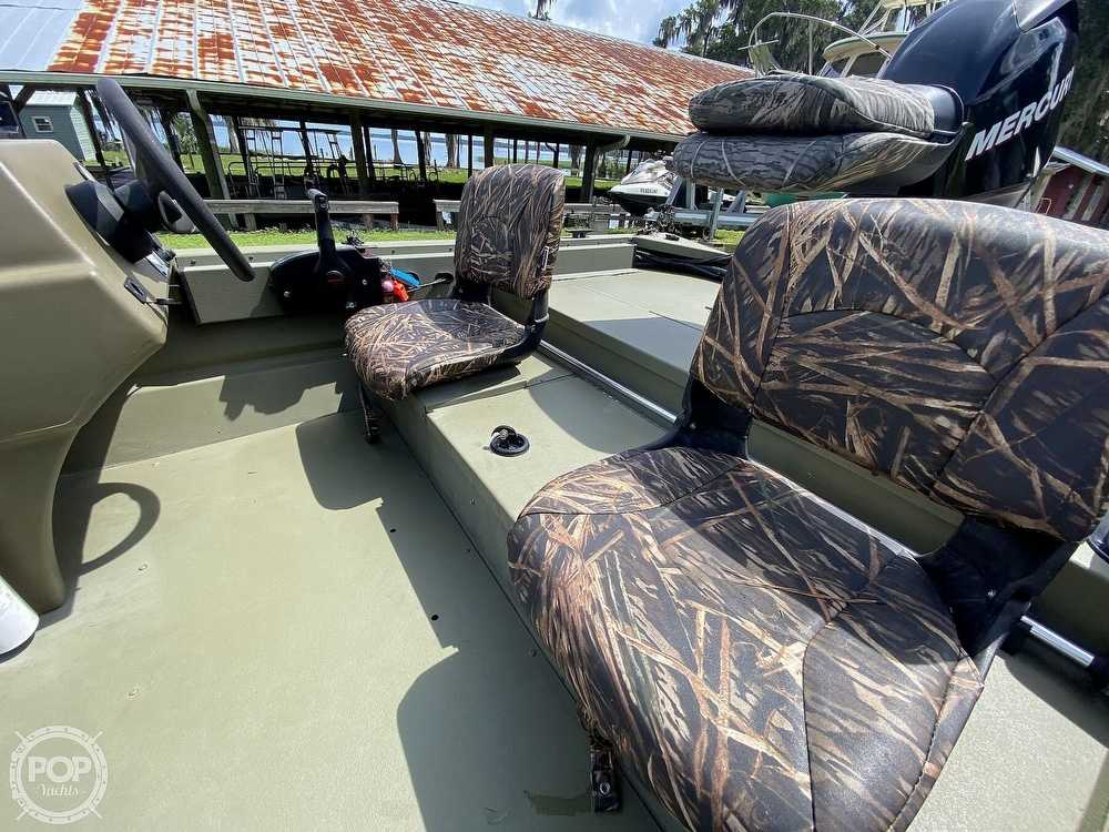 2011 Tracker Boats boat for sale, model of the boat is 1754SC Grizzly & Image # 20 of 32