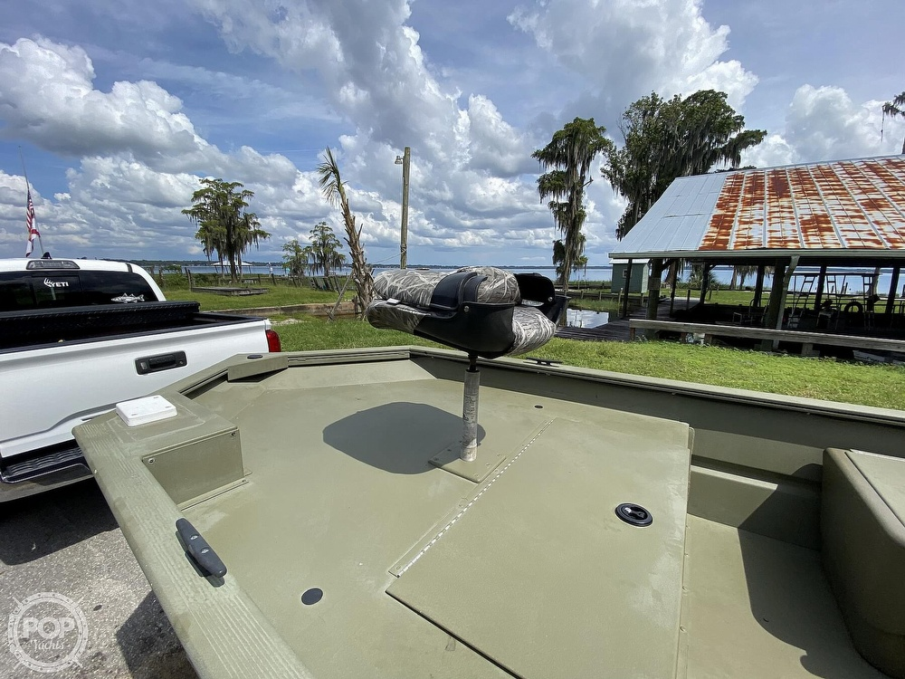 2011 Tracker Boats boat for sale, model of the boat is 1754SC Grizzly & Image # 22 of 32