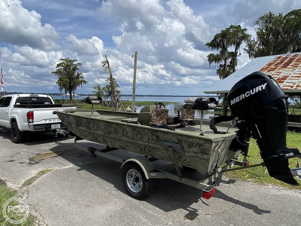 2011 Tracker Boats boat for sale, model of the boat is 1754SC Grizzly & Image # 31 of 32