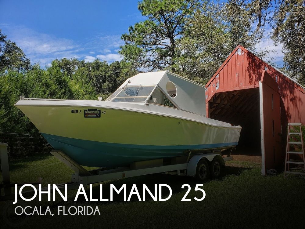 1970 John Allmand boat for sale, model of the boat is 25 & Image # 1 of 40