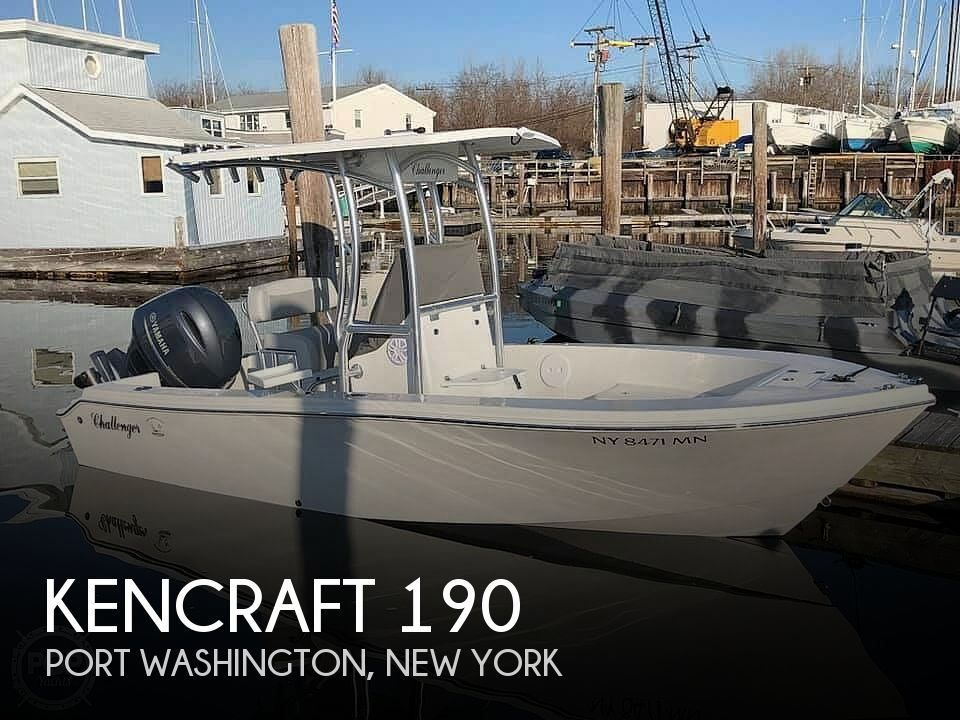 2018 Kencraft boat for sale, model of the boat is Challenger 190 & Image # 1 of 12