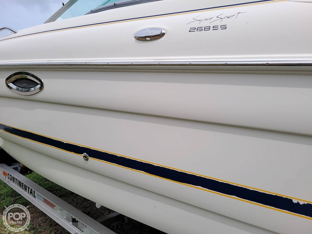 2007 Monterey boat for sale, model of the boat is 268SS & Image # 36 of 40