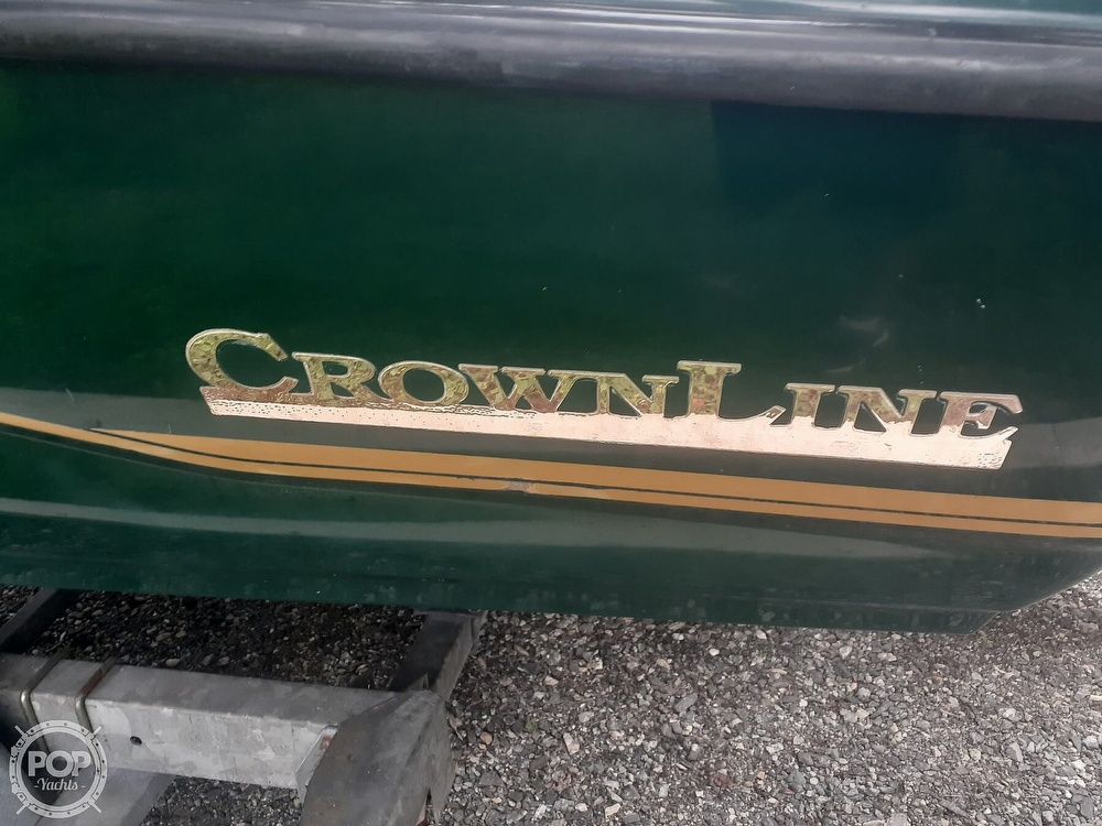1996 Crownline boat for sale, model of the boat is 225 & Image # 22 of 40