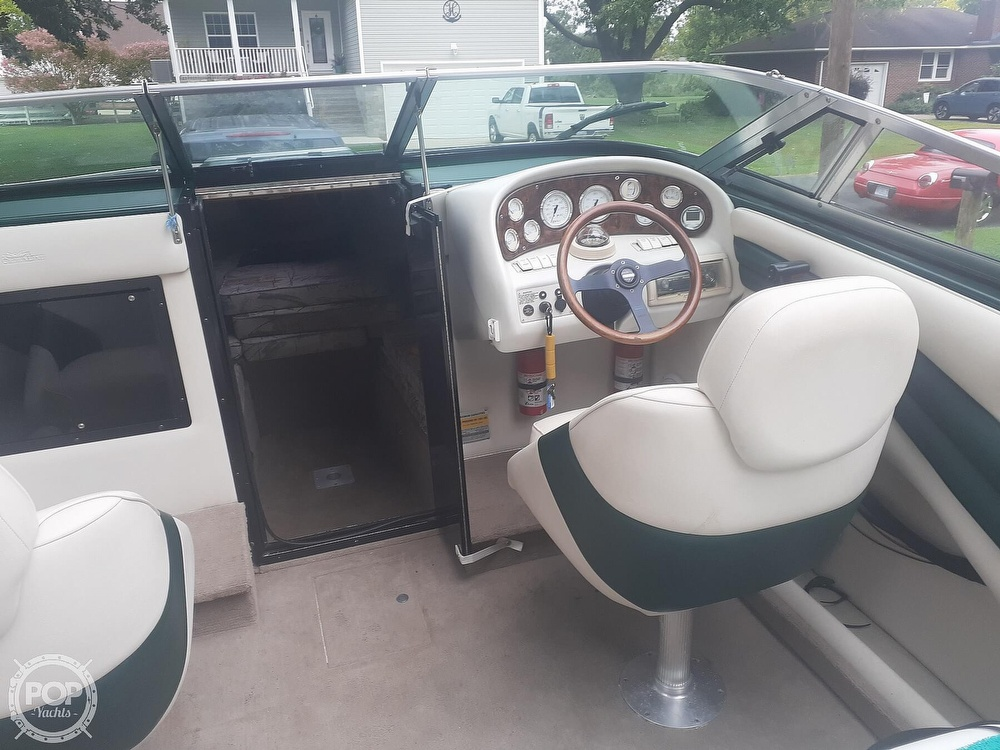 1996 Crownline boat for sale, model of the boat is 225 & Image # 7 of 40