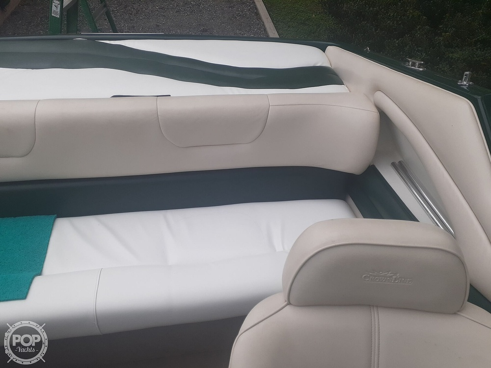 1996 Crownline boat for sale, model of the boat is 225 & Image # 29 of 40