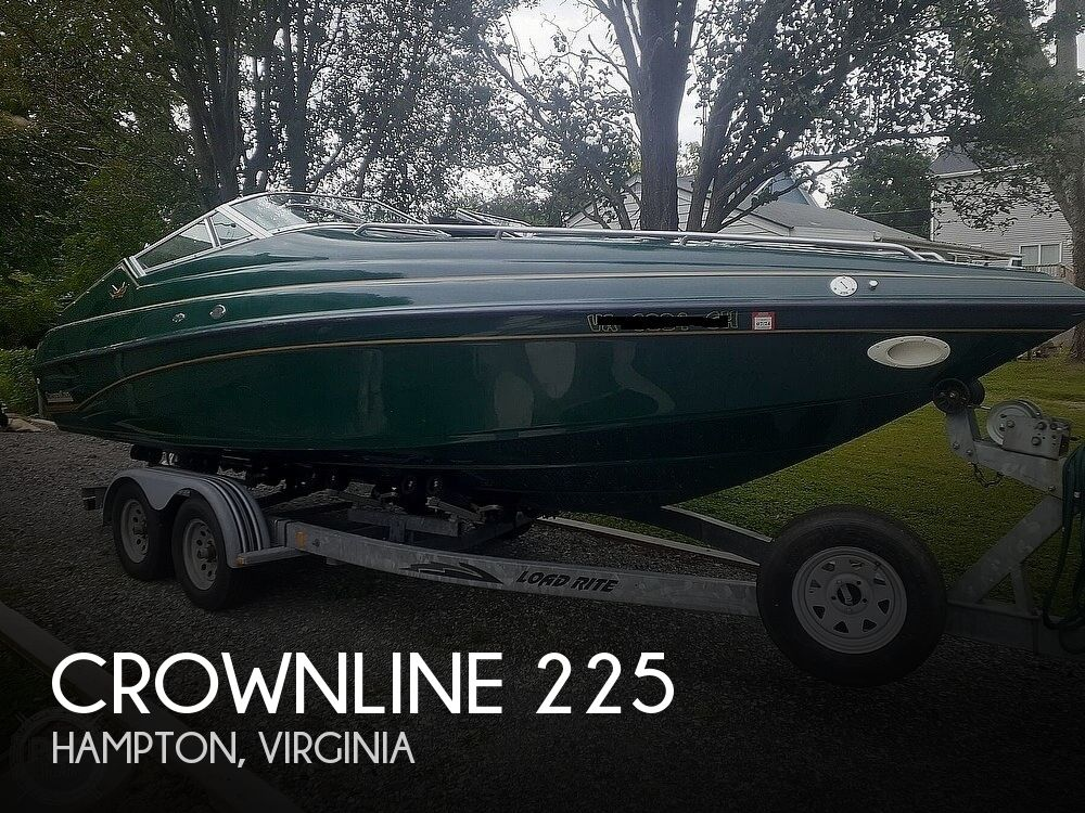 1996 Crownline boat for sale, model of the boat is 225 & Image # 1 of 40