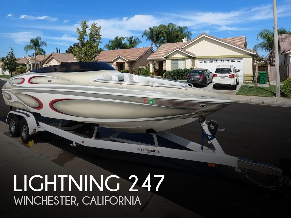 2007 Lightning boat for sale, model of the boat is Ultra 247XS & Image # 1 of 40