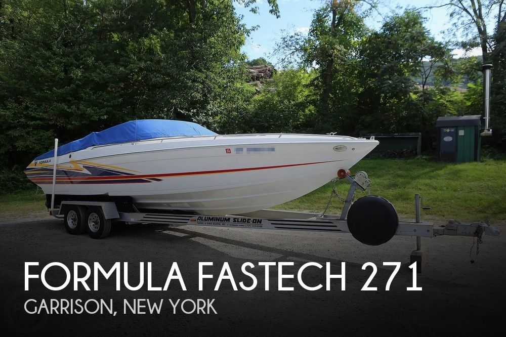 2003 Formula boat for sale, model of the boat is Fastech 271 & Image # 1 of 40