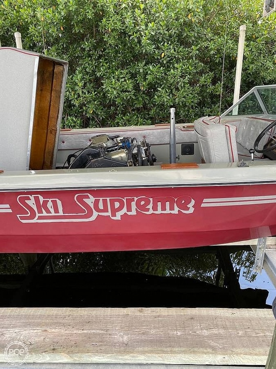 1983 Supreme boat for sale, model of the boat is 18 & Image # 10 of 16