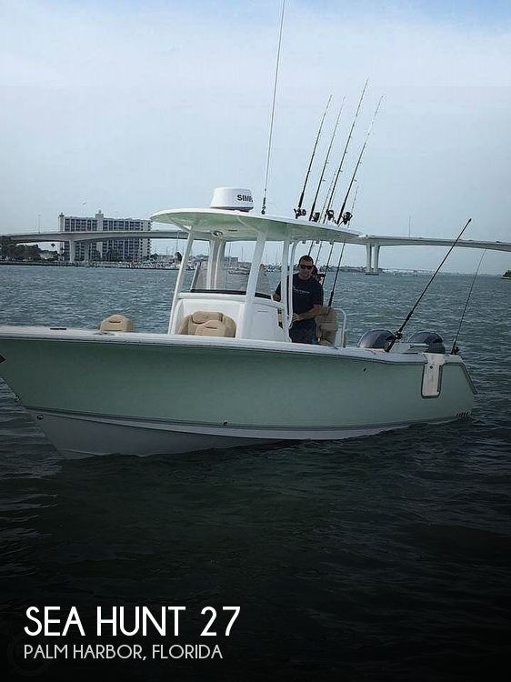2016 Sea Hunt boat for sale, model of the boat is Gamefish 27 & Image # 1 of 40