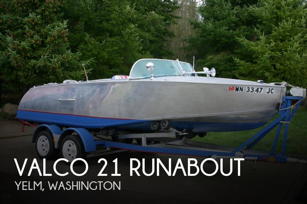 1953 Valco 21 Runabout - Photo #1