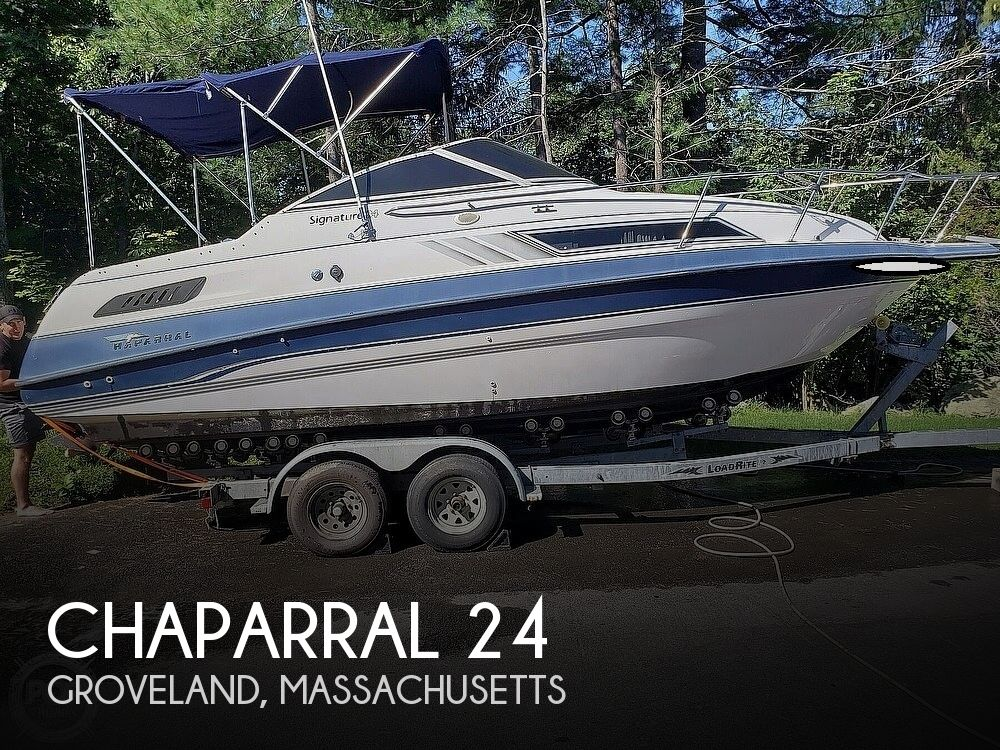 1996 Chaparral boat for sale, model of the boat is 24 Signature & Image # 1 of 40