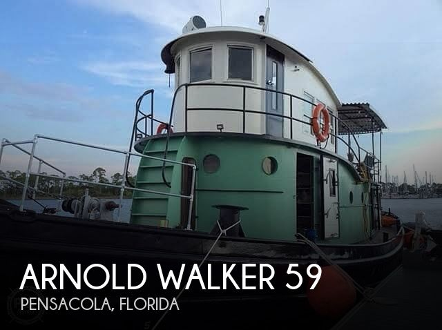1946 Arnold Walker boat for sale, model of the boat is 59 Bow Tug & Image # 1 of 40