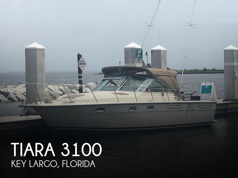 1987 Tiara Yachts boat for sale, model of the boat is 3100 & Image # 1 of 40